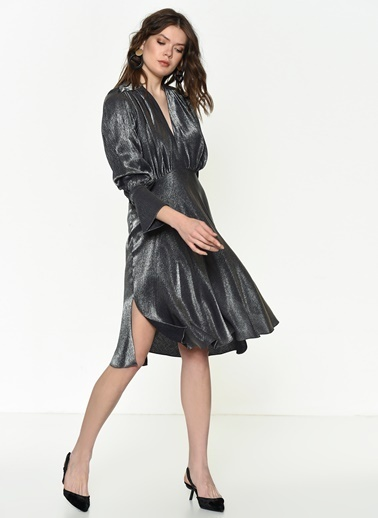 Si Design Elbise Antrasit
